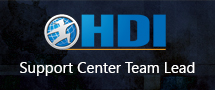 earnChase Best HDI Support Center Team Lead for ITIL Online Training