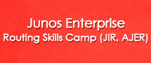 LearnChase Best Junos Enterprise Routing Skills Camp (JIR, AJER) for Juniper Online Training