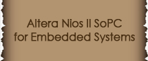 LearnChase Best Altera Nios II SoPC for Embedded Systems Online Training