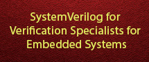 LearnChase Best SystemVerilog for Verification Specialists for Embedded Systems Online Training